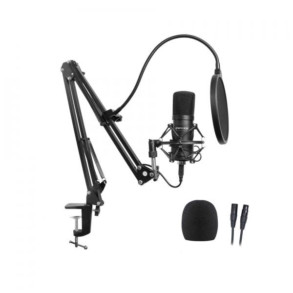 Microphone pack with stand Power studio Vibe B1 Bundle XLR