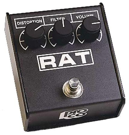 Overdrive, distortion & fuzz effect pedal Pro co                         Rat 2