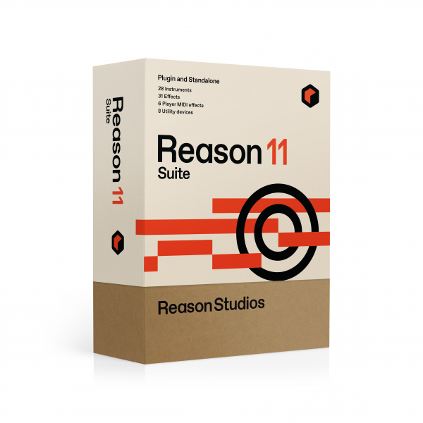Sound bank Reason studios Reason Studios 11 Suite
