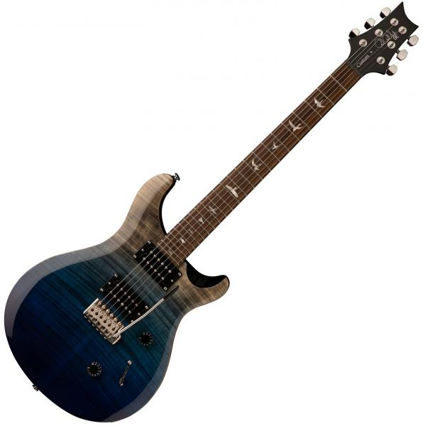 Solid body electric guitar Prs SE Custom 24 Ltd 2020 - Charcoal blue fade