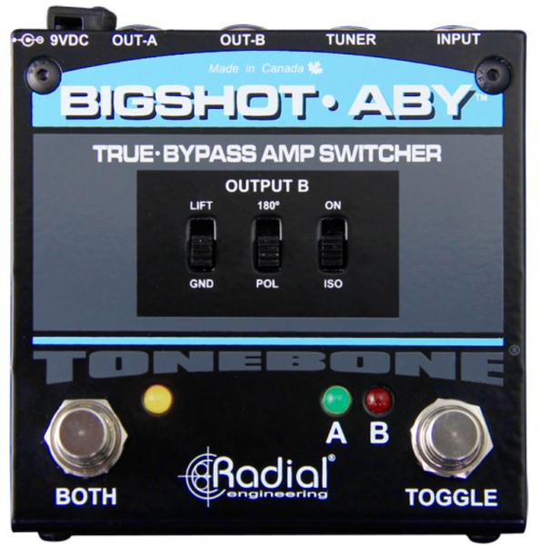 Switch pedal Radial Tonebone BigShot ABY Amp Switcher V2