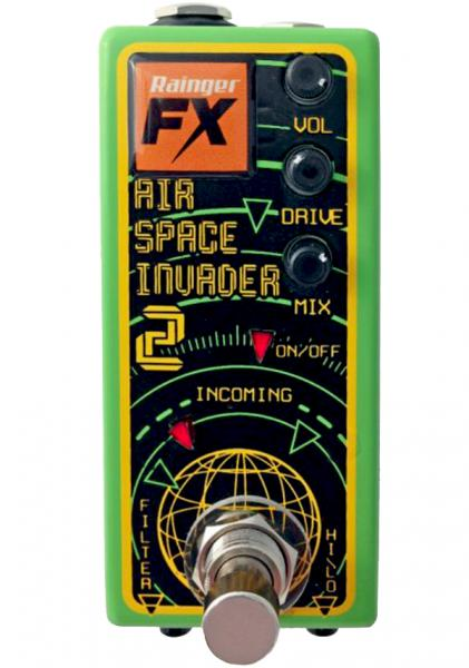 Overdrive, distortion & fuzz effect pedal Rainger fx Air Space Invader 2 Overdrive