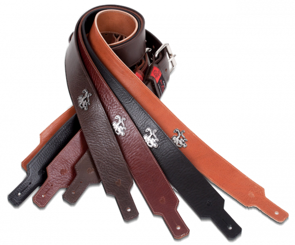 Guitar strap Red monkey Sangle 2 Pouces Classic Chocolate
