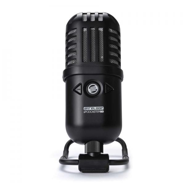 Broadcast & interview microphone Reloop Spodcaster Go