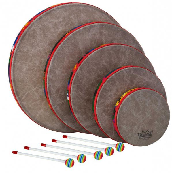 Percussion set for kids Remo 5 Hand Drum Set for Kids