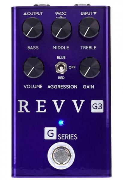 Overdrive, distortion & fuzz effect pedal Revv G3 Distortion