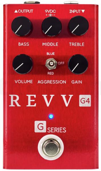 Overdrive, distortion & fuzz effect pedal Revv G4 Distortion