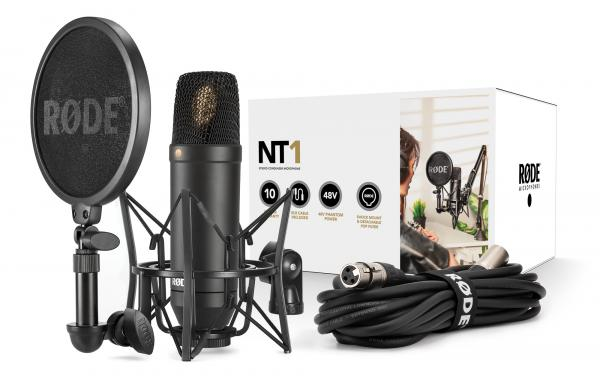 Microphone pack with stand Rode NT1 Kit