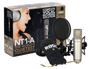 Microphone pack with stand Rode NT1-A PACK