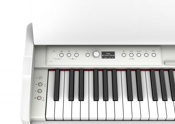 Digital piano with stand Roland F701-WH