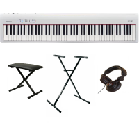 Digital piano set Roland FP-30-WH + stand X + banquette + casque - Blanc