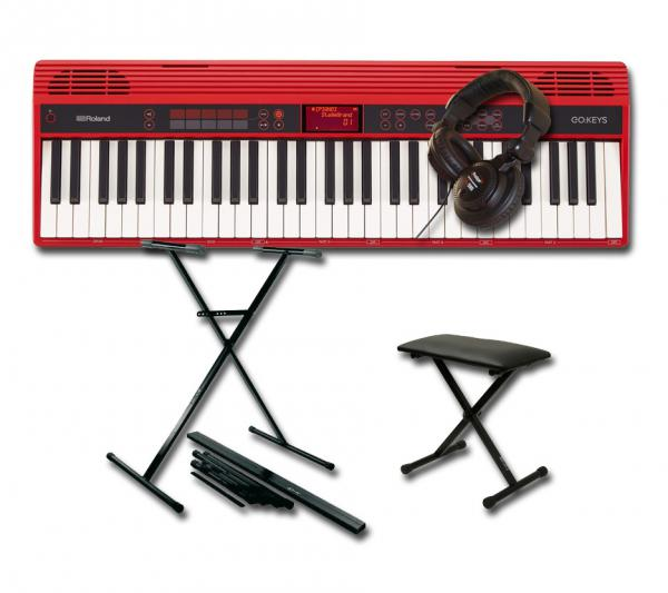 Roland GO:Keys 61 K + STAND + BANQUETTE + CASQUE