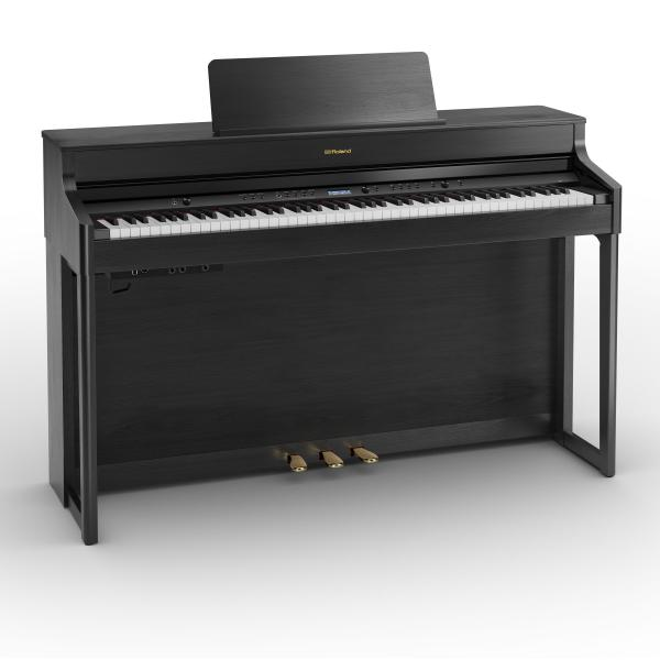 Digital piano with stand Roland HP 702 CH NOIR MAT