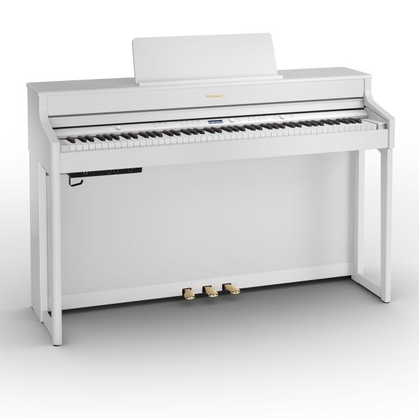 Digital piano with stand Roland HP 702 WH White