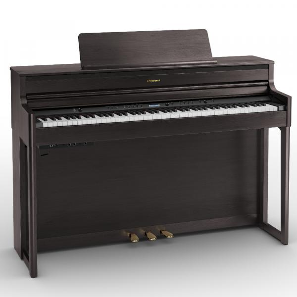 Digital piano with stand Roland HP704 DR ROSEWOOD