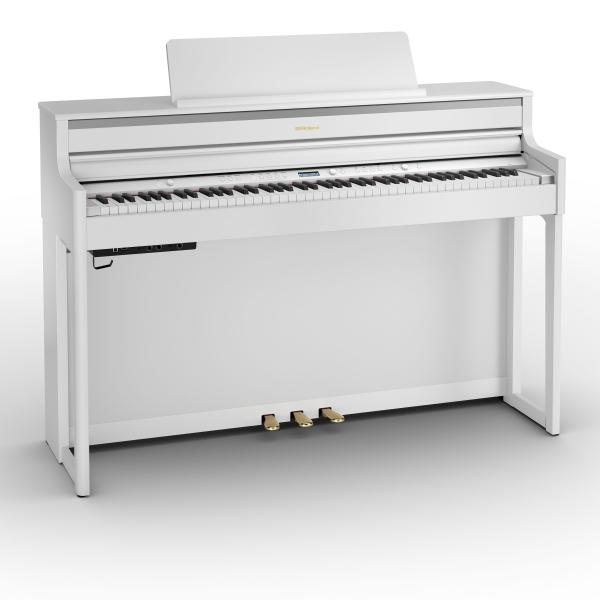 Digital piano with stand Roland HP704 WH WHITE