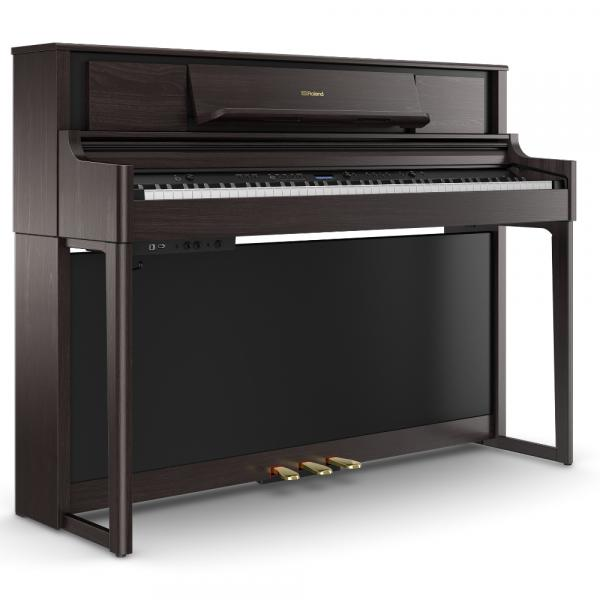 Digital piano with stand Roland LX705-DR