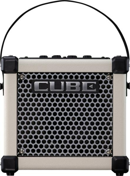 Electric guitar combo amp Roland Micro Cube GX - White