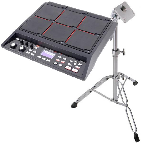 Electronic drum mutlipad & sampling pad Roland SPD-SX + PDS-10 Pad Stand Pack