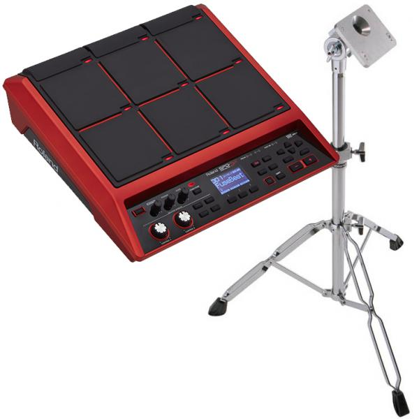 Electronic drum mutlipad & sampling pad Roland SPD-SX SE + PDS-10 Pad Stand Pack