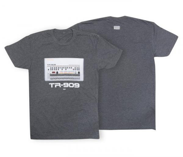 T-shirt Roland TR-909 Crew T-Shirt Charcoal - S
