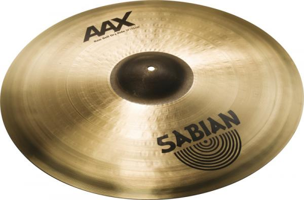 Ride cymbal Sabian AAX Ride Raw Bell Dry - 21 inches