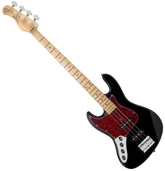 Solid body electric bass Sadowsky MetroExpress 21-Fret Vintage J/J Bass 4 Left Hand (MN) - Black