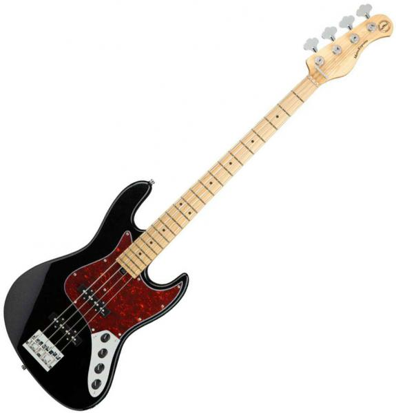 Solid body electric bass Sadowsky MetroExpress 21-Fret Vintage J/J Bass 4 (MN) - Black