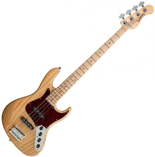 Solid body electric bass Sadowsky Will Lee MetroLine 22-Fret Swamp Ash 5 (GER, MN) - Natural satin