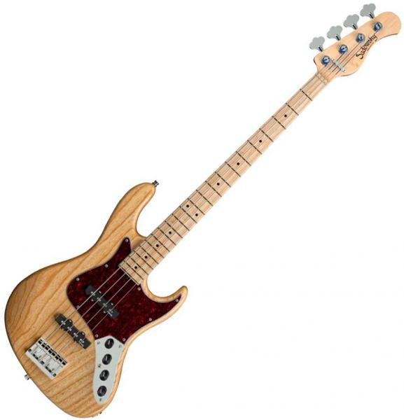 Solid body electric bass Sadowsky Will Lee MetroLine 22-Fret Swamp Ash 4 (GER, MN) - Natural trans satin