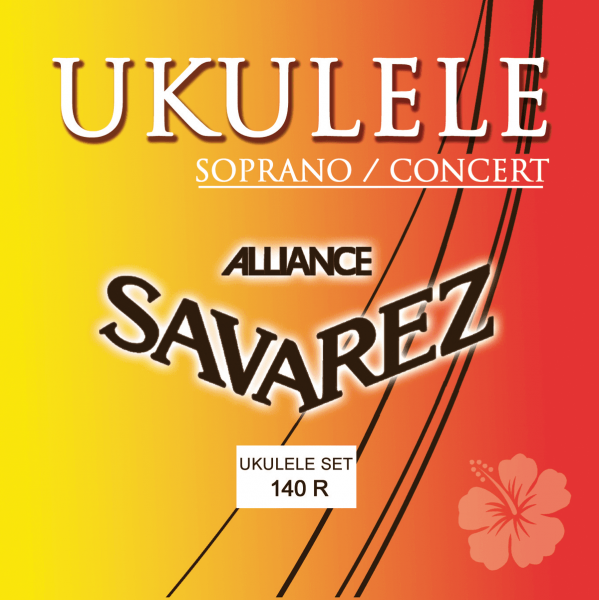 Ukulele strings Savarez 140R Alliance Ukulélé Soprano Concert - Set of strings