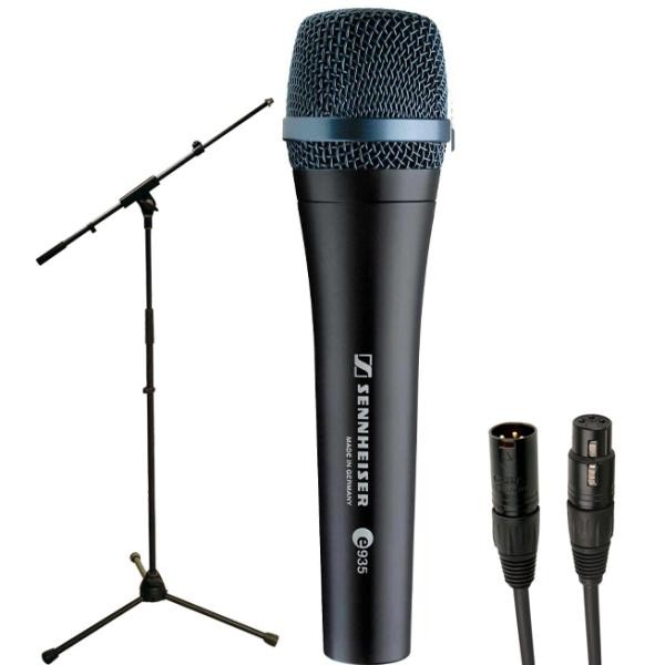 Microphone pack with stand Sennheiser Pack E935 + Pied perche + cable