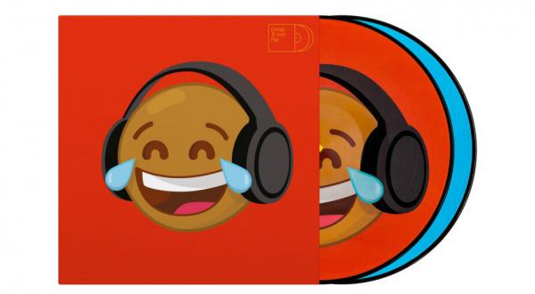 Control vinyl Serato Emoji PIcture Disc(Thinking/Crying)