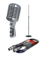 Microphone pack with stand Shure 55SHT2 + pied micro + cable