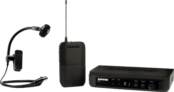 Wireless microphone for instrument  Shure BLX14E-PGA98H-M17 Instrument