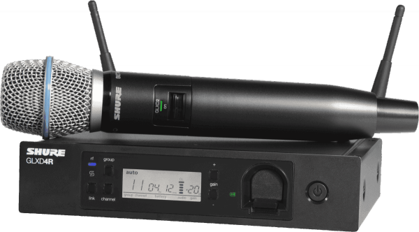 Wireless handheld microphone Shure GLXD24RE-B87A-Z2