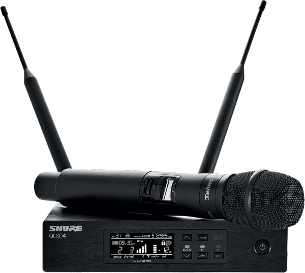 Wireless handheld microphone Shure QLXD24-KSM9-H51