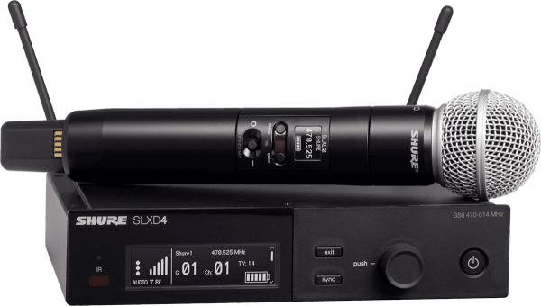 Wireless handheld microphone Shure SLXD24E-SM58-H56