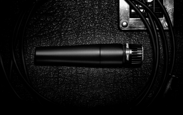 Studio recording and live microphone Shure SM57