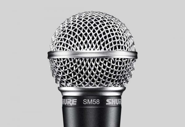 Vocal microphones Shure SM58 LCE