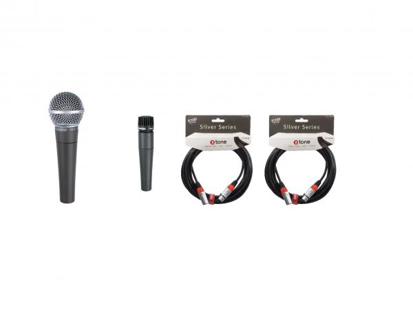 Microphone pack with stand Shure Pack Instrument et Voix