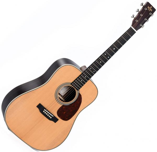 Acoustic guitar & electro Sigma DT-28H+ Standard - Natural