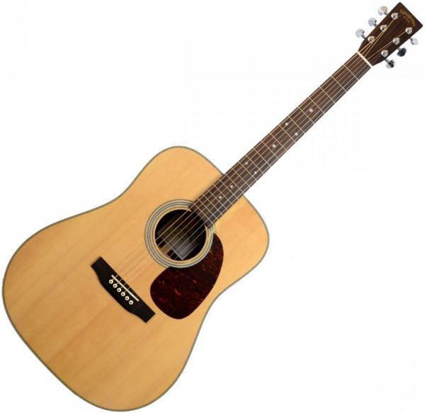 Acoustic guitar & electro Sigma SDR-28H Standard - Natural