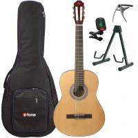 Classical guitar 4/4 size Silvanez CL44-NAT +X-Tone 2002 Bag Pack - Natural