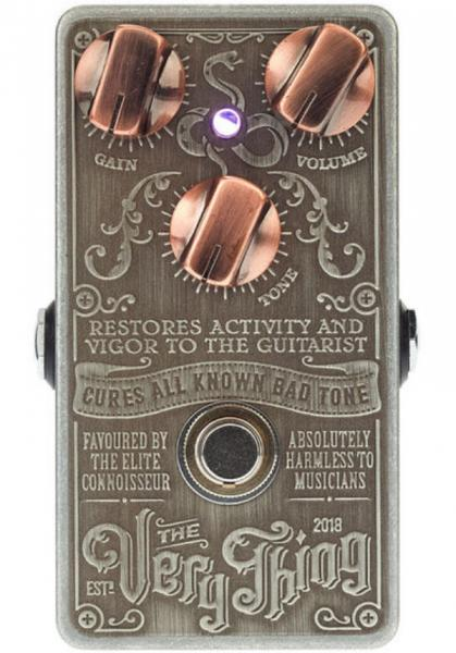 Overdrive, distortion & fuzz effect pedal Snake oil The Very Thing Boost