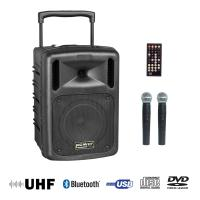 Portable pa system Power acoustics Be 9610 Uhf Abs