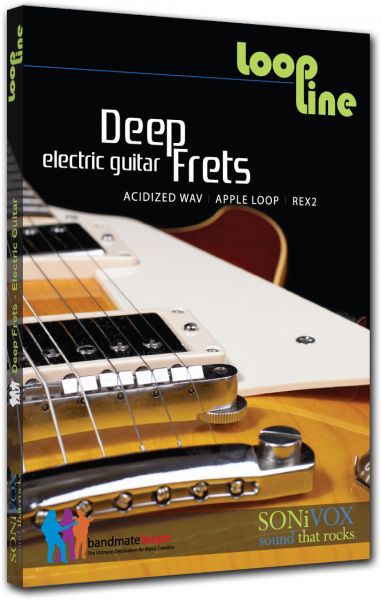 Sound bank Sonivox Deep Frets Electric Guitar