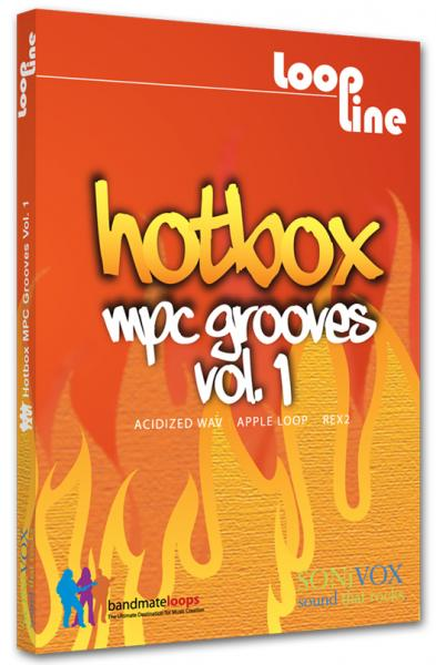 Sound bank Sonivox Hot Box : MPC Grooves Vol. 1