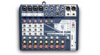 Analog mixing desk Soundcraft NotePad-12FX
