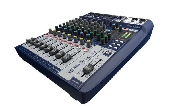 Analog mixing desk Soundcraft Signature 10